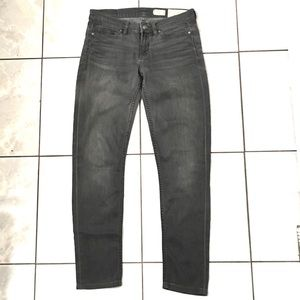 Allsaints Ashby Womans Gray Skinny Jeans